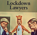 Lockdown lawyers cover icon