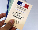 New Caledonia voting card