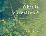 What is journalism? cover
