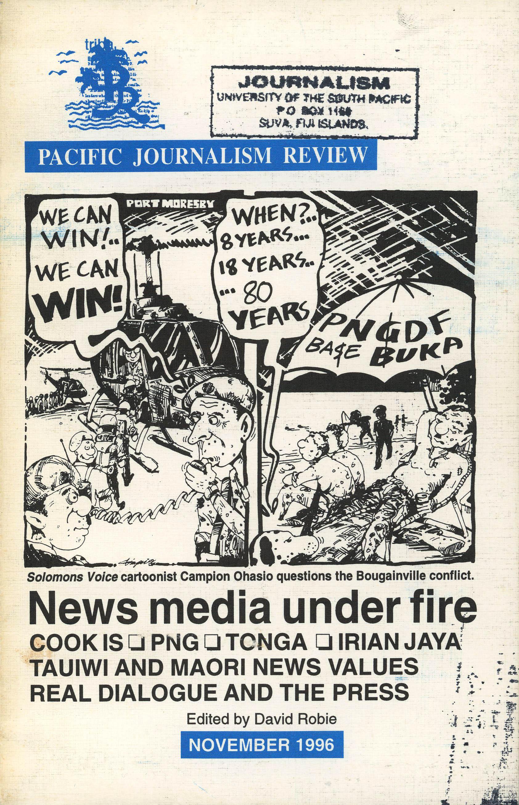 PJR cover v3n2(Nov1996)