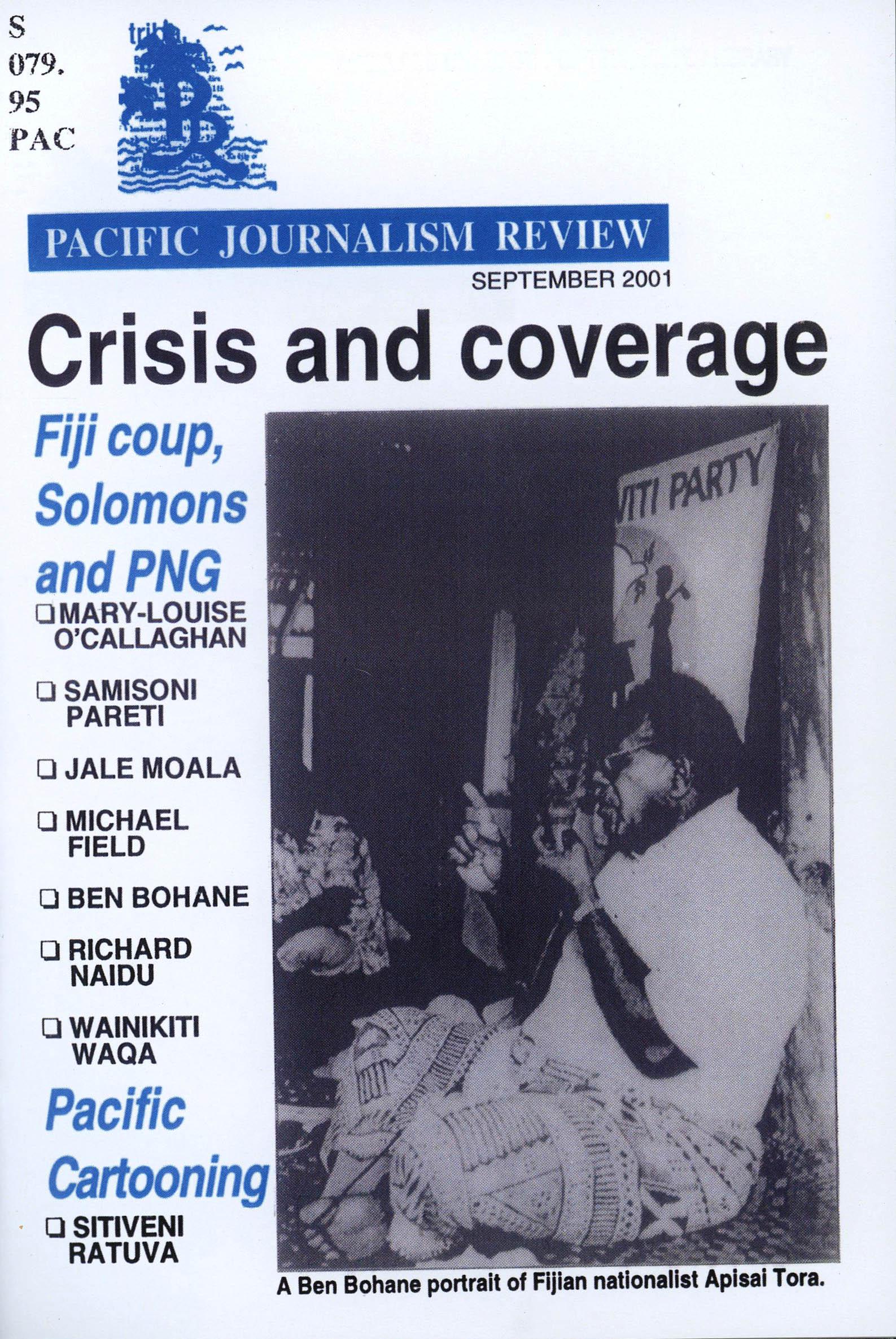 PJR cover 7 September 2001