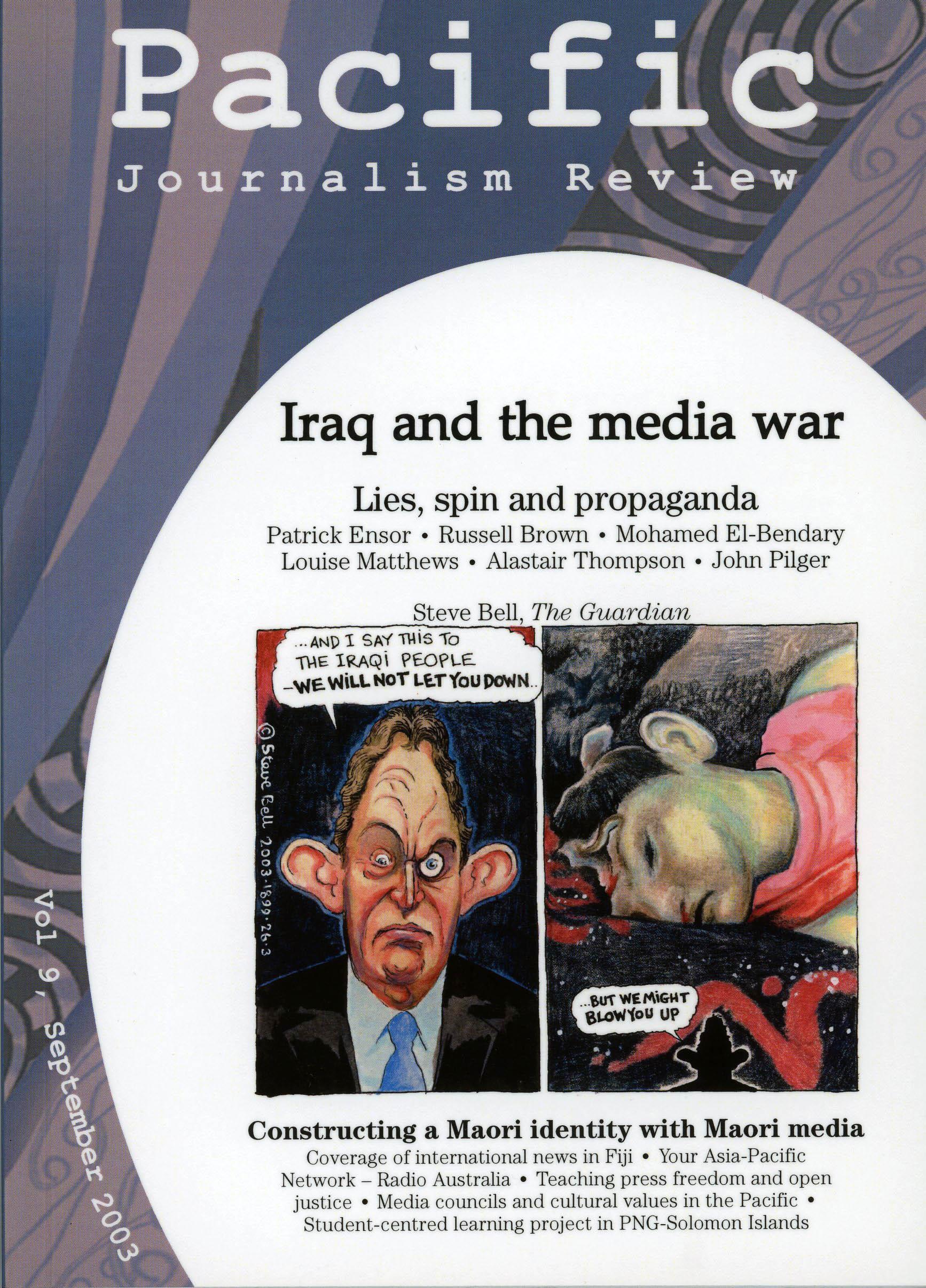 PJR cover 9 September 2003