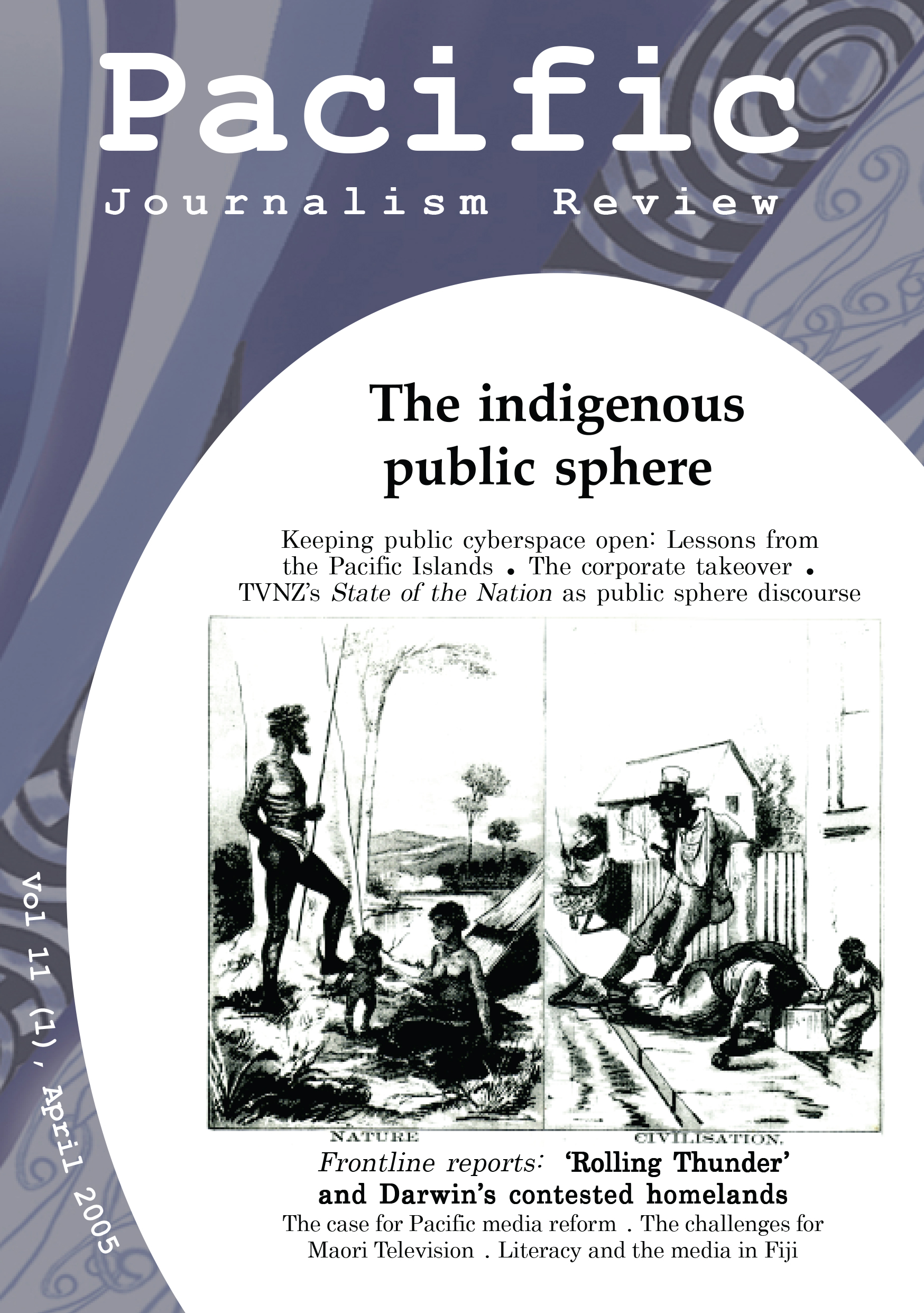 PJR cover 11(1) April 2005