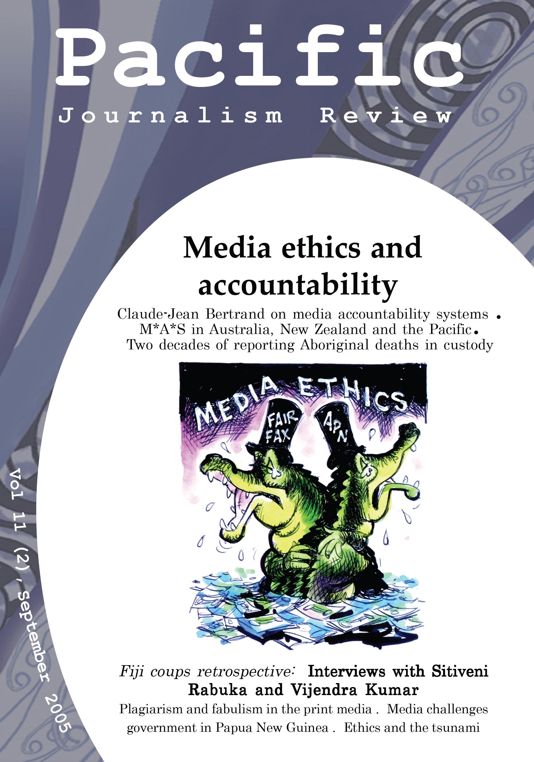 PJR cover 11(2) September 2005