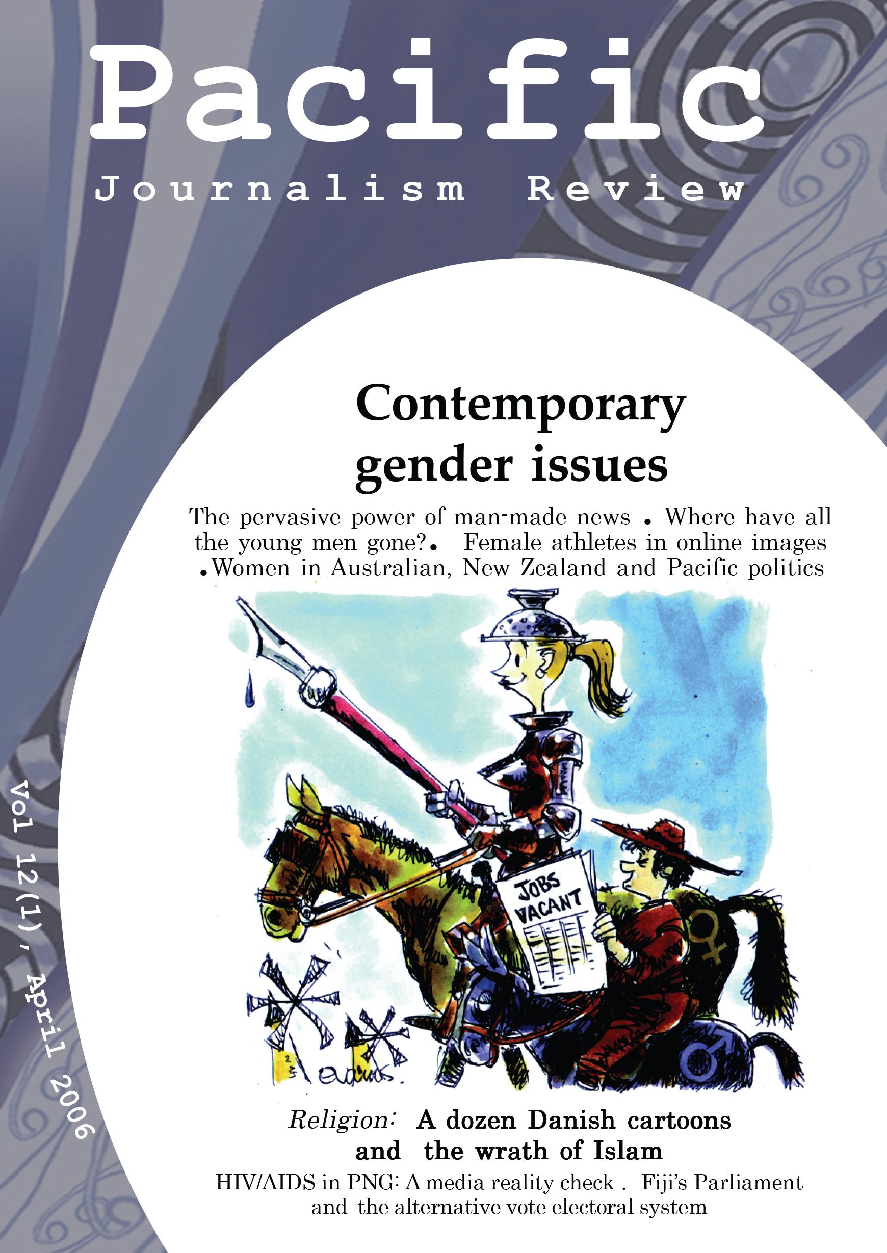 PJR cover 12(1) April 2006