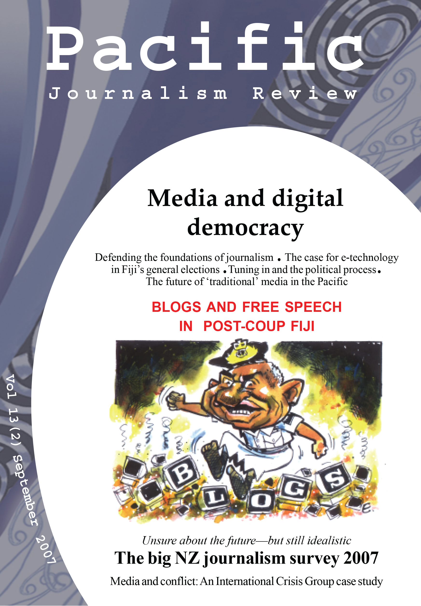 PJR cover 13(2) September 2007